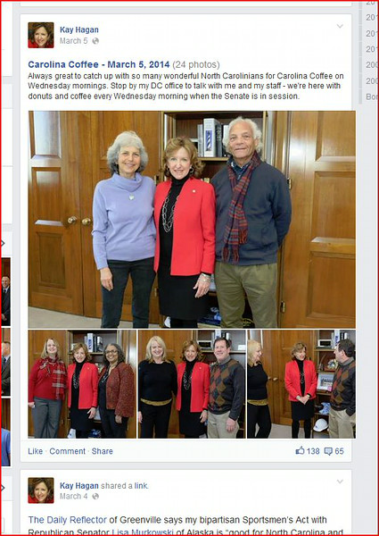 20140304 David and Marlene at Senator Hagon office in Washington DCCapture
